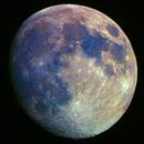 Earth's Moon, RGB, 4 May 2020,                                David Dearden