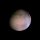 Mars showing Meridum Planum,                    LacailleOz