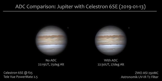 First Jupiter of the season: ADC Comparison,                                Darren (DMach)