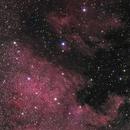 Pelican and North America Nebulas central area,                                Gustavo Naharro
