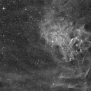 IC-405 Ha with DSLR,                                Jan Schubert