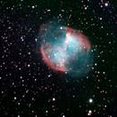 M27 Dumbbell Nebula,                                Loran Hughes