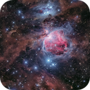 Orion nebula of 2015 to 2019,                                  Toshiya Arai
