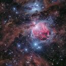 Orion nebula of 2015 to 2019,                                Toshiya Arai