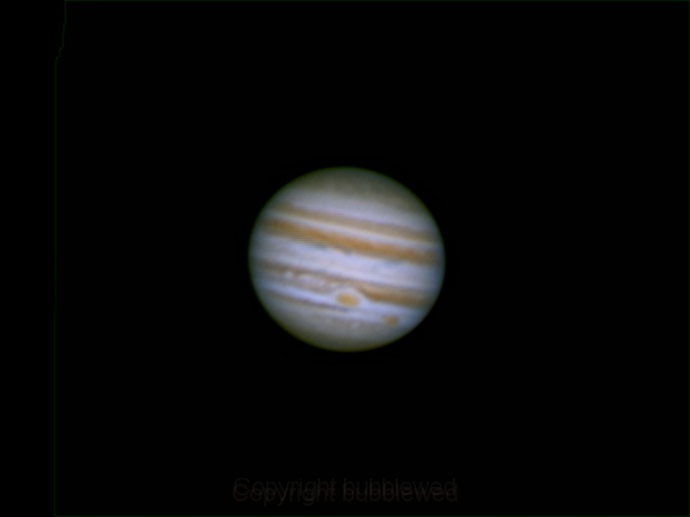 Jupiter,                                bubblewed