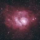 Lagoon Nebula (M8),                                Mandar Potdar
