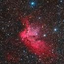 NGC 7380 (NB version is NASA APOD 8-29-14),                                Mike Miller