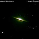 m104 galassia nella vergine                                                                             distanza 29 milioni A.L.,                                Carlo Colombo