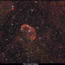 NGC6888 The Crescent Nebula in H-alpha + OSC,                                Serge Caballero
