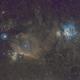 Orion and Horse nebula complex,                                Boštjan Zagradišnik