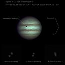 Jupiter 2014 11 01 Ganymede and Io partial occultation,                                Almir Germano