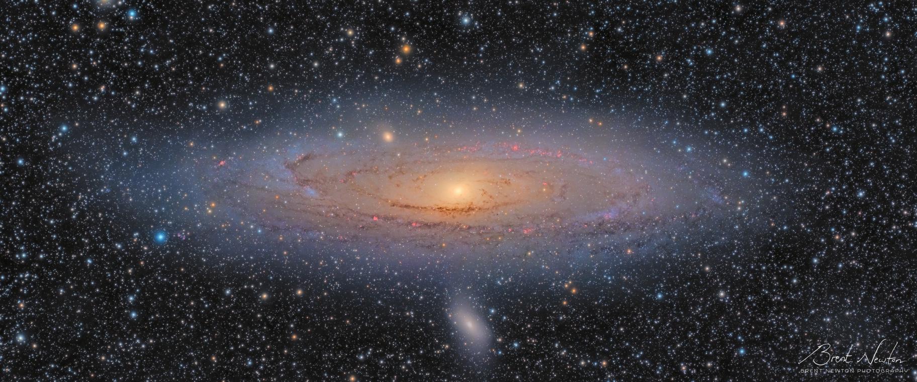 The Andromeda Galaxy [LHARGB],                                Brent Newton
