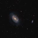 NGC 4725 : Galaxy in Coma Berenices - LRGBHa : Using new 12in scope !,                                Daniel.P