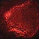 Sh2-129 Flying Bat Nebula (Starless)(Squidless),                                Tommy Lease