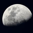 Moon in summer 2018,                                  Andreas Hofer