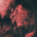 The Pelican Nebula IC5070 HOO,                                hinoshori