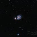 M51 from city center under 90% moon illumination,                                Paolo Zampolini