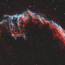 Eastern Veil Nebula - HOO,                                Phil Brewer