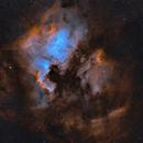 NGC7000 widefield HOO,                                Sergiy_Vakulenko