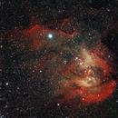 Lambda Centauri Nebula / Running Chicken Nebula (IC2944),                                KiwiAstro
