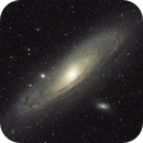 My First Astro Image - M31,                                Hubble_Trouble