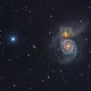 M51 galaxy,                                  Toshiya Arai