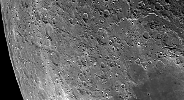 The moon in close up,                                Tareq Abdulla