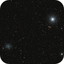 M53 & NGC5053 : Two Globular Clusters in Coma Berenices - RGB,                                Daniel.P