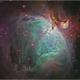 An Inusual false color Orion Nebula,                                Edoardo Luca Radi...