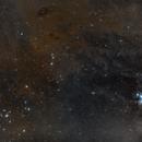 Bull Smoke Hyades  M45,                                Łukasz Żak