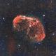 NGC 6888 - The Crescent Nebula through L-eNhance,                                JohnAdastra