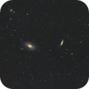 M81 and M82 in HaLRGB,                                David Nozadze