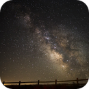 Milky Way over Hagerman Fossil Beds National Monument,                                Gary Leavitt