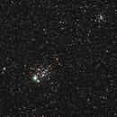 NGC 457,                                Fred