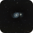 M51 Whirlpool Galaxy,                                SHADOW HO
