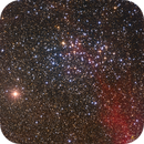 a colored open cluster from the South : NGC 3532,                                Los_Calvos