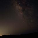 Milky Way rising,                                gmartin02
