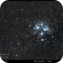 Plejaden - M45,                                  TheCounter