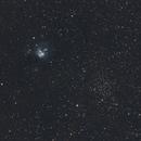 NGC 7129 Nebula with NGC 7142 open cluster,                                Richard H