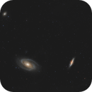 Bode's Galaxy - M81 / M82 - Feb 2019 v1a,                                  Martin Junius