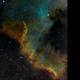 NGC7000 - The Wall,                                Janos Barabas