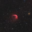 Sh2-188 - The Dolphin Nebula Ha/O3-RGB,                                Jonas Illner