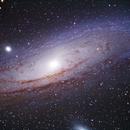 Andromeda galaxy,                                Göran Nilsson