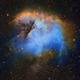 NGC 281 - Pacman Nebula - Hubble Palette,                                Eric Coles (coles44)
