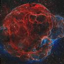 SH2-240 - The Spaghetti Nebula,                                Jason Wiscovitch