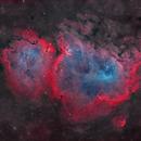 Sh2-199 - Soul Nebula (Natural Palette),                                Yannick Akar
