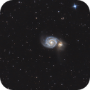 Whirlpool Galaxy (M51),                                Valentin JUNGBLUTH