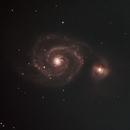 M51 - Whirlpool Galaxy,                                lonespacewolf