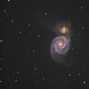 M51 Whirlpoolgalaxie,                                  Alexander Grasel