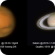 Mars and Saturn With my Daughter Naty @ 2016-06 ,                                Fernando